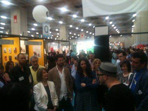 Giuseppe Foderaro e Andrea G. Pinketts Salone del libro TO 2011